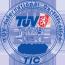 TUV international certification